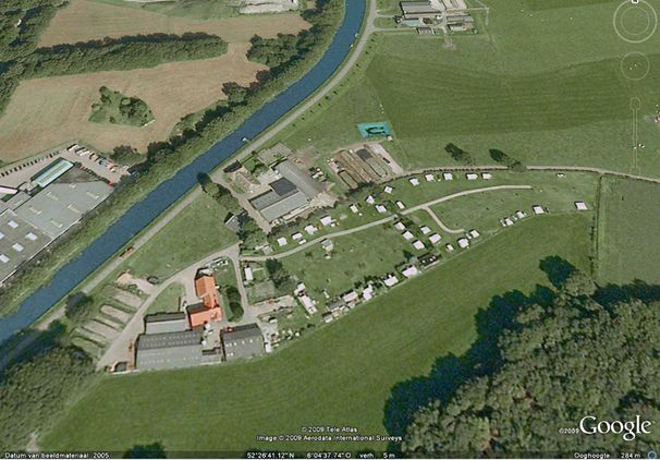 Luchtfoto Camping Het Klooster